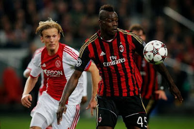 Video Ajax Vs Milan Hasil Liga Champions 2 Oktober 2013