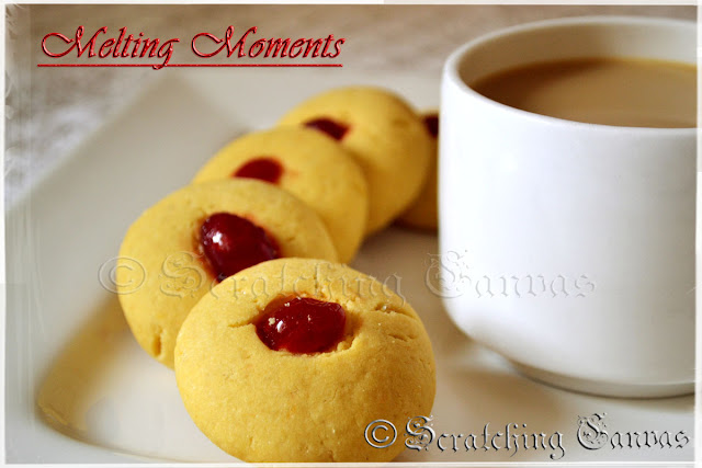 master chef recipe of Melting Moment