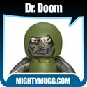 Dr. Doom Marvel Mighty Muggs Wave 2 Thumbnail Image 2 - Mightymugg.com