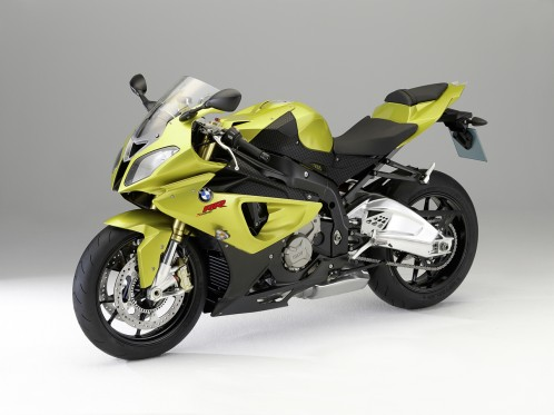 BMW S 1000RR Green Superbike