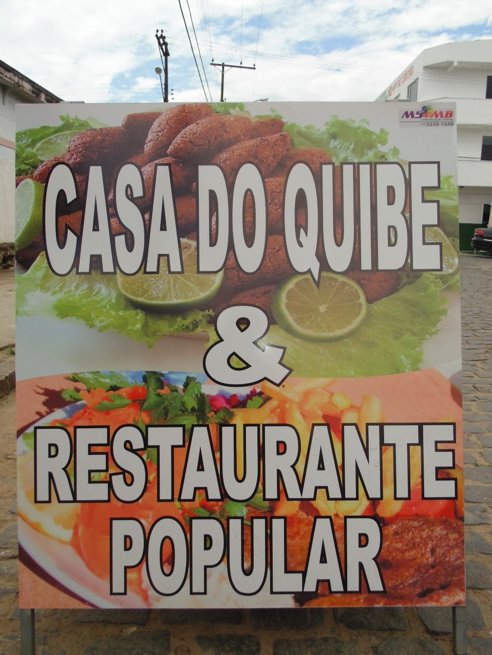 CASA DO QUIBE & RESTAURANTE POPULAR.
