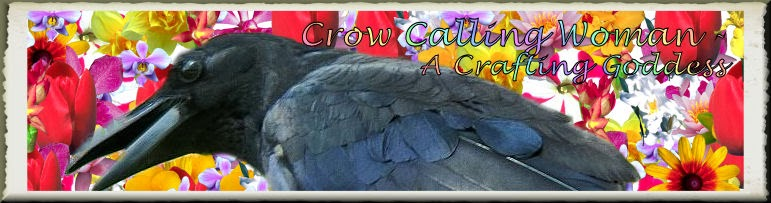 Crow Calling Woman - A Crafting Goddess