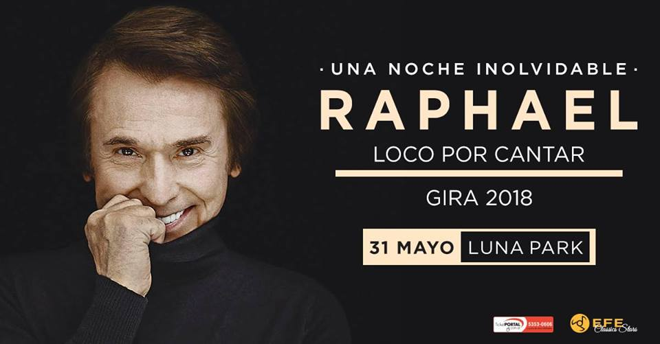 Raphael en el Luna Park de Bs. As.