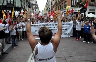 10.000 trabajadores y trabajadoras de limpieza llamadas a movilizarse