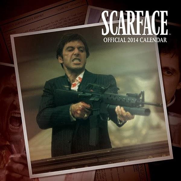 Calendario Scarface 2014