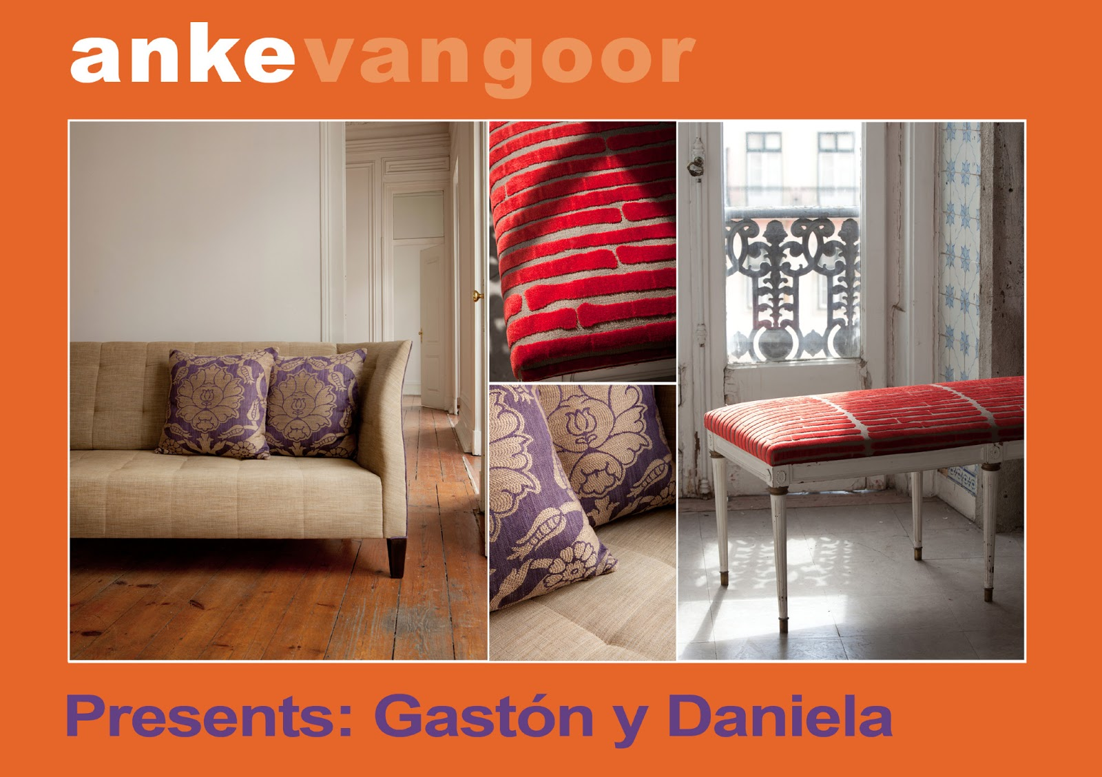 Anke van goor passie voor textiel en behang gast n y daniela impressions - Gaston y daniela ...
