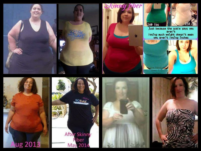 Pear Shaped Weight Loss with Skinny Fiber