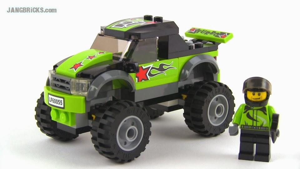 Lego City 2014 Monster Truck Amp Tow Truck Set Reviews
