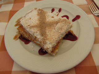 Tarta de Hojaldre relleno de crema pastelera