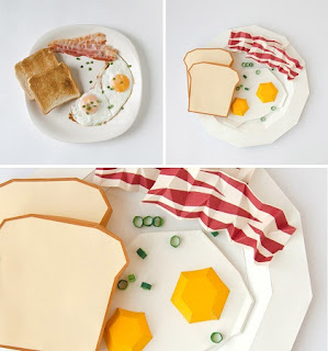 Comidas Populares recreadas en Papel, Ideas Originales