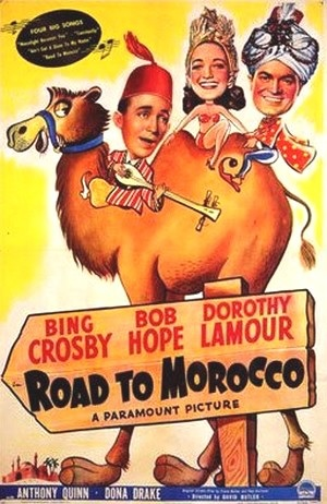 We certainly do get around. Like Webster's Dictionary we're Morocco bound.