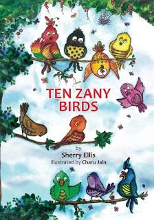 Book Review: Ten Zany Birds by Sherry Ellis