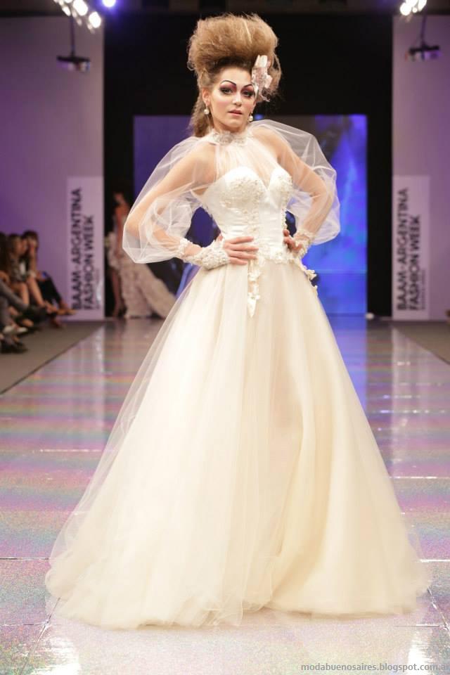 Baam 40 Argentina Fashion Week otoño invierno 2014. Verónica de la Canal vestidos 2014, otoño invierno 2014.