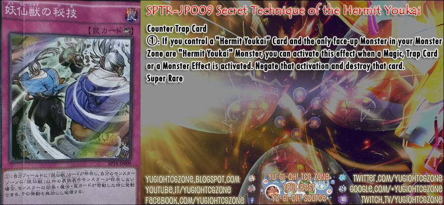 SPTR-JP009 Secret Technique of the Hermit Youkai 「妖仙獣の秘技」