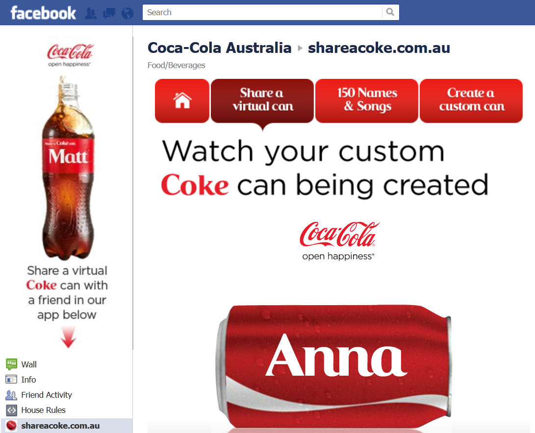case coca colas social media What the share a coke campaign can teach other brands from a social perspective, coca-cola has seen along with the use of advertising and social media to.