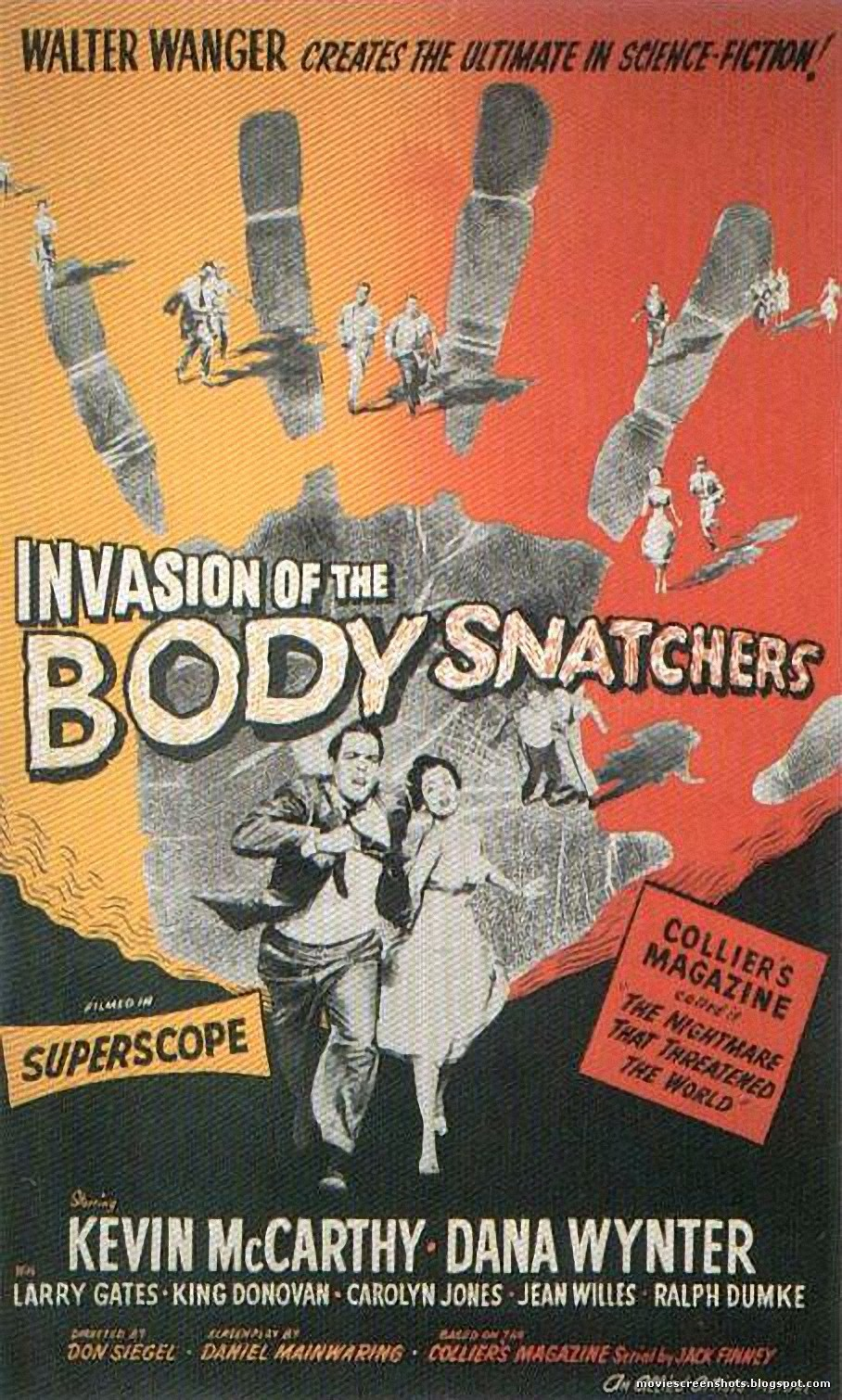 Invasion of the body snatchers essay