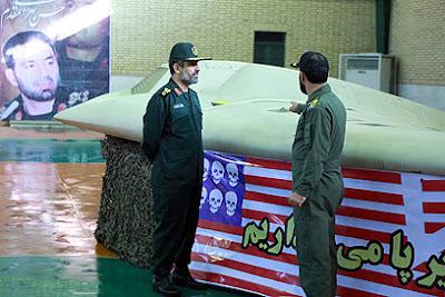 la proxima guerra avion no tripulado espia capturado por iran
