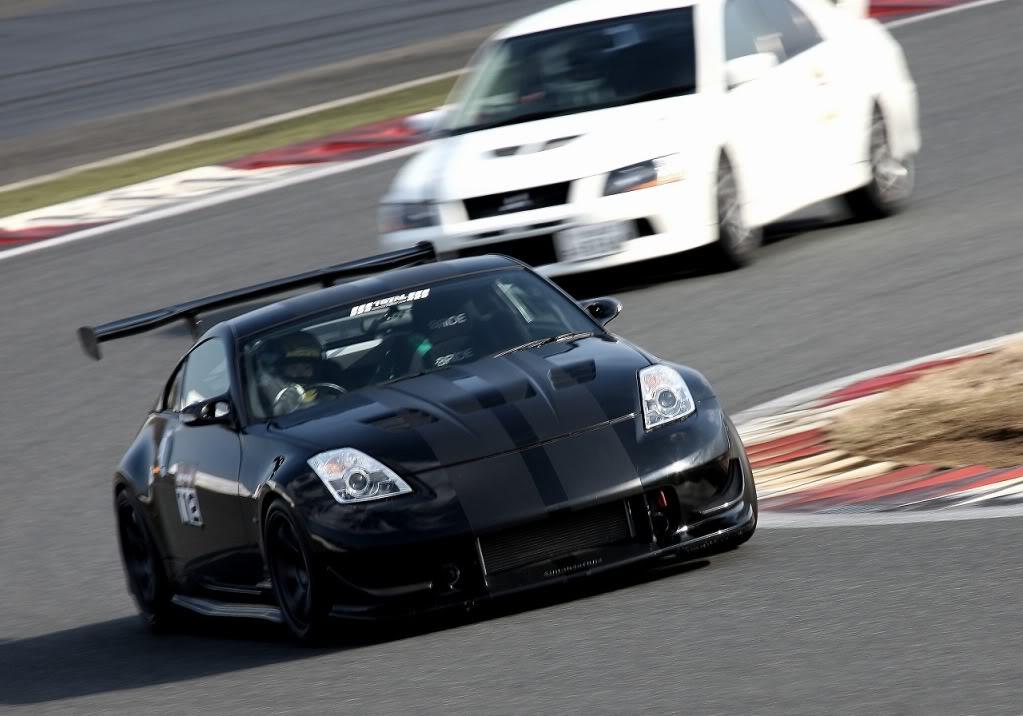 Nissan Fairlady Z Z33 , japoński sportowy samochód, tuning, JDM, wyścigi