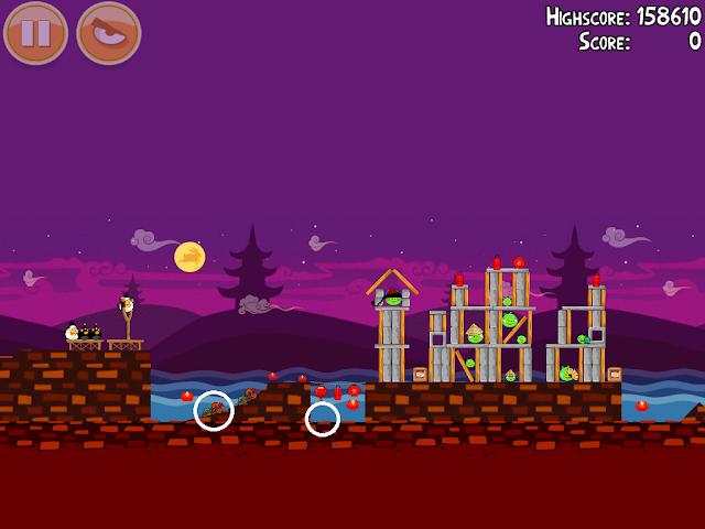 Angry Birds Seasons: Mooncake Festival 1-15
