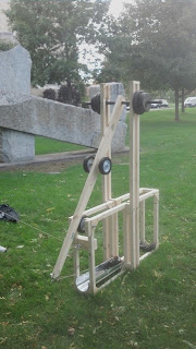 SUNY Plattsburg FAT (floating arm trebuchet)