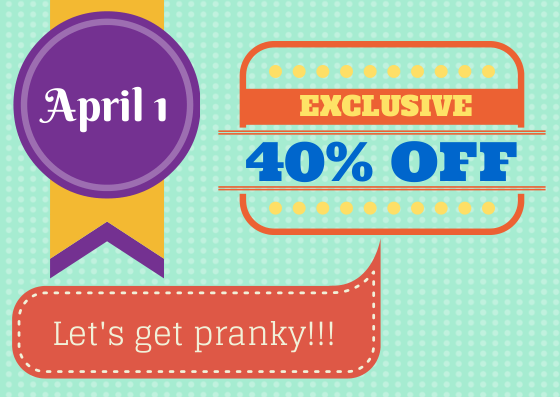 "Get Ready to Shout Out ""April Fools""!"