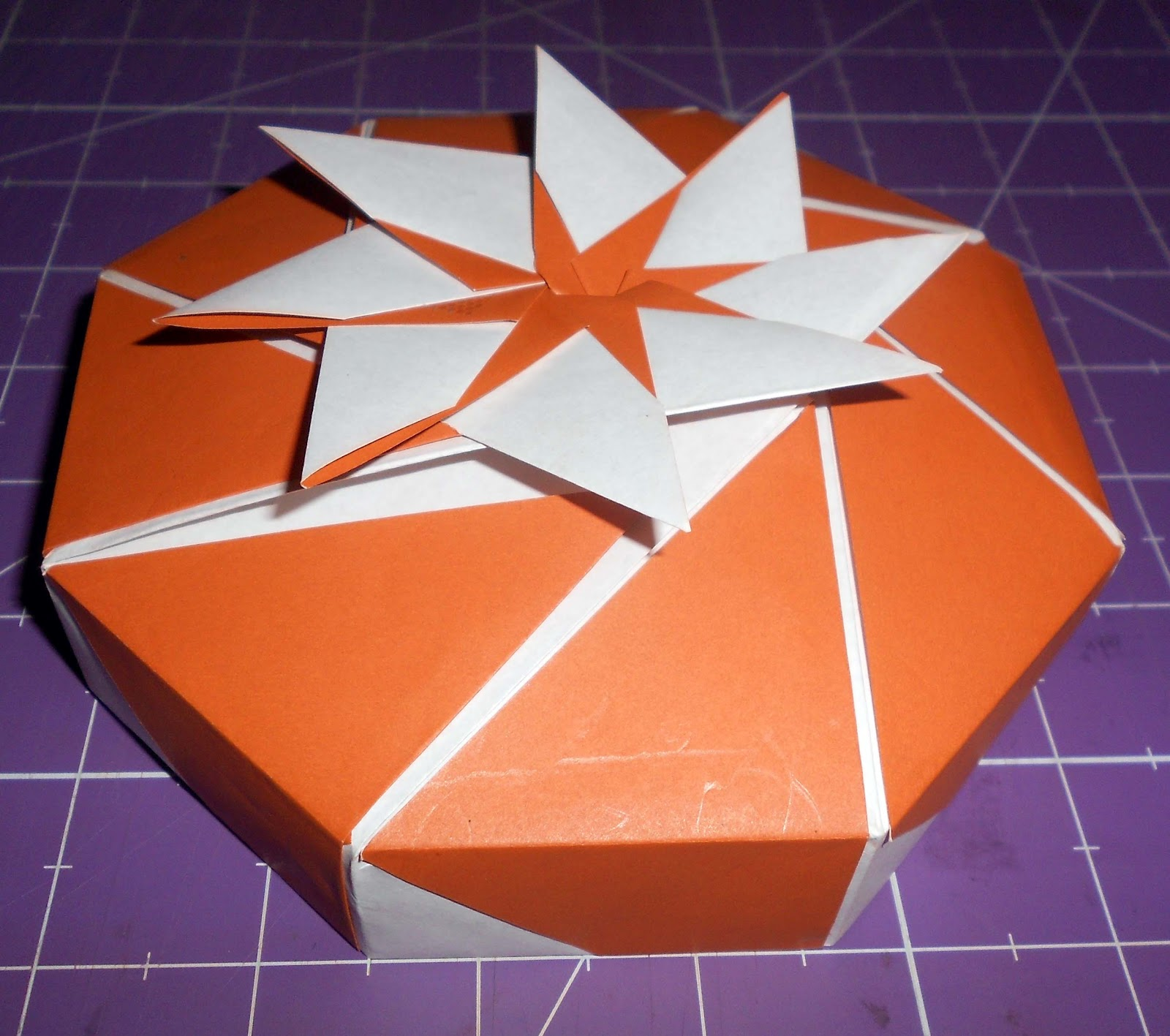 PaperRibbonsBling Octagon Origami Box A Tutorial