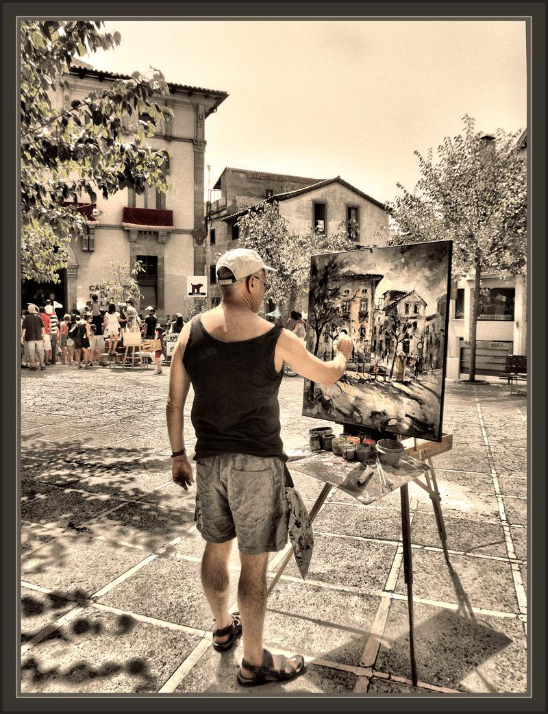 Ernest descals artista pintor moia pintura barcelona capricornio cabra fotos ajuntament cuadros - Pintores de barcelona ...
