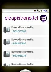 La tarjeta de visita online de Nicosol, SL. le permite acceder al instante desde cualquier dispositivo conectado a Internet, solo tiene que escribir elcapistrano.tel
