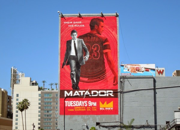 Matador series premiere billboard