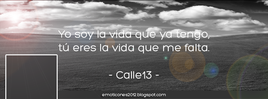 Portada Facebook Calle 13