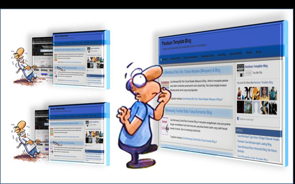 Mengganti Template Blog Lebih Fast Loading