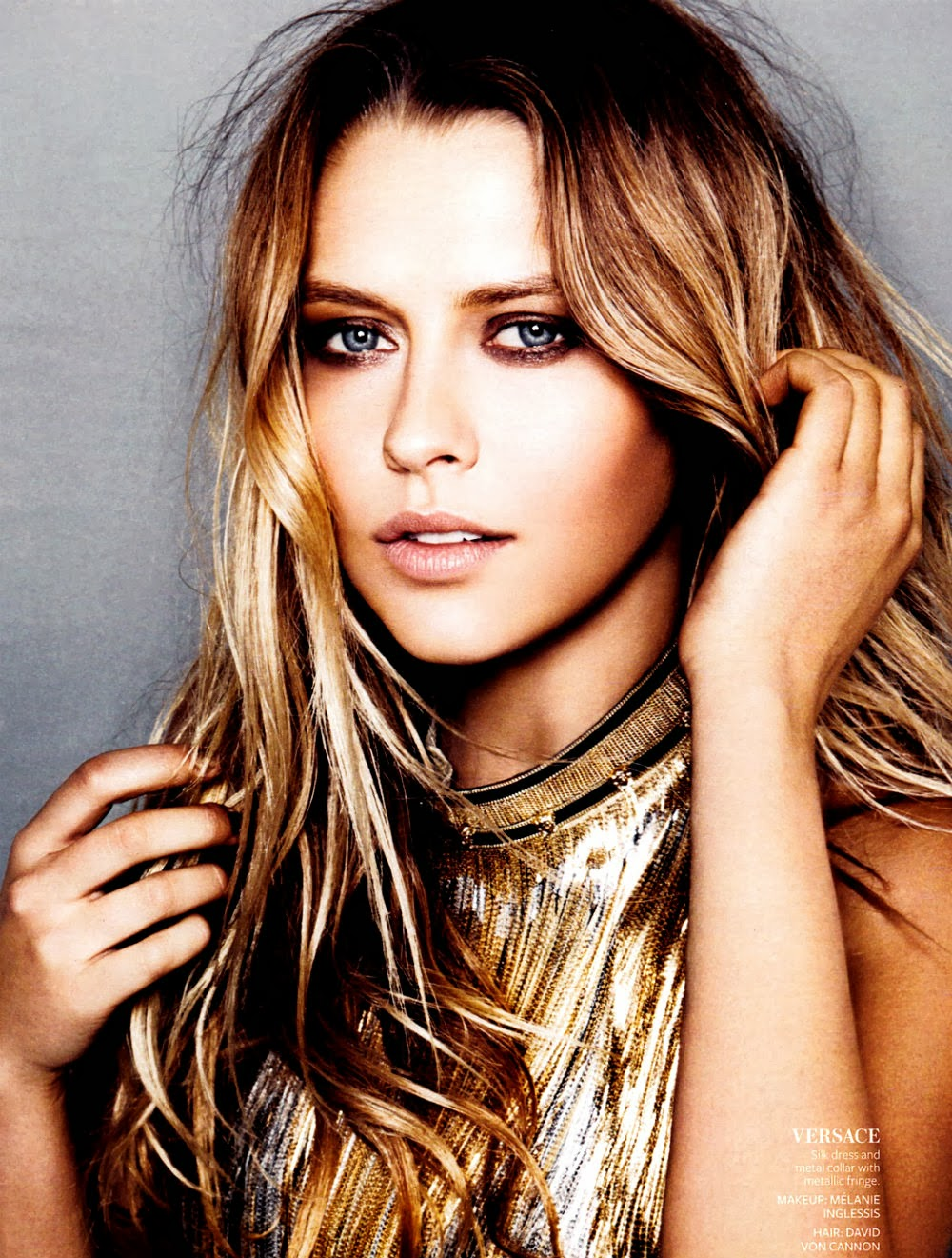Teresa Palmer Australia on January Color By Number