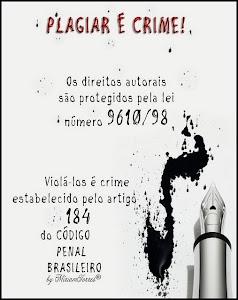 Plágio além de feio, é crime!