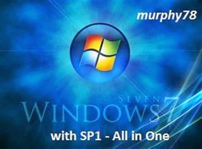 Windows 7-SP1 AIO 28in1 x86