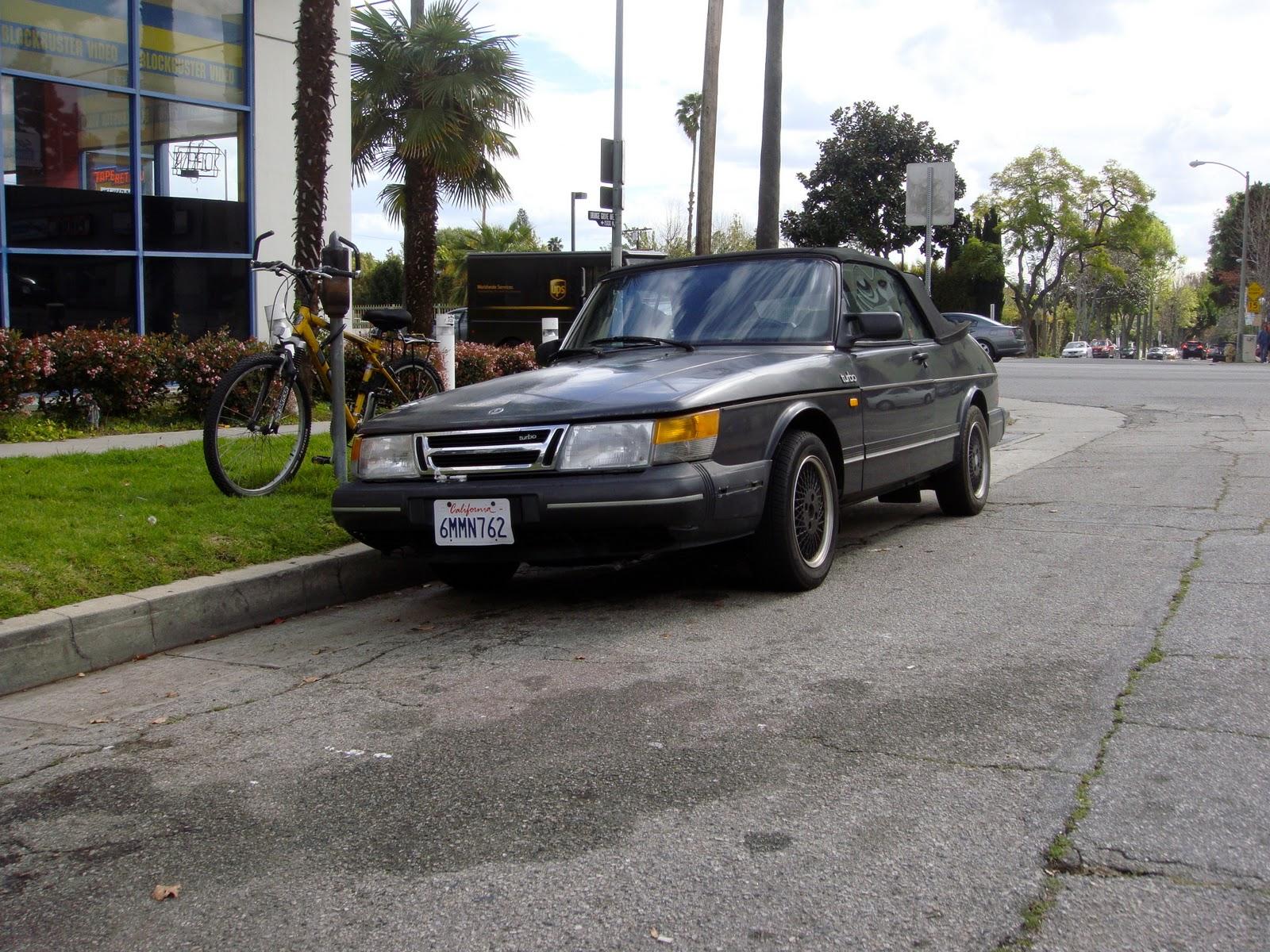 The Street Peep  1989 Saab C900 Convertible