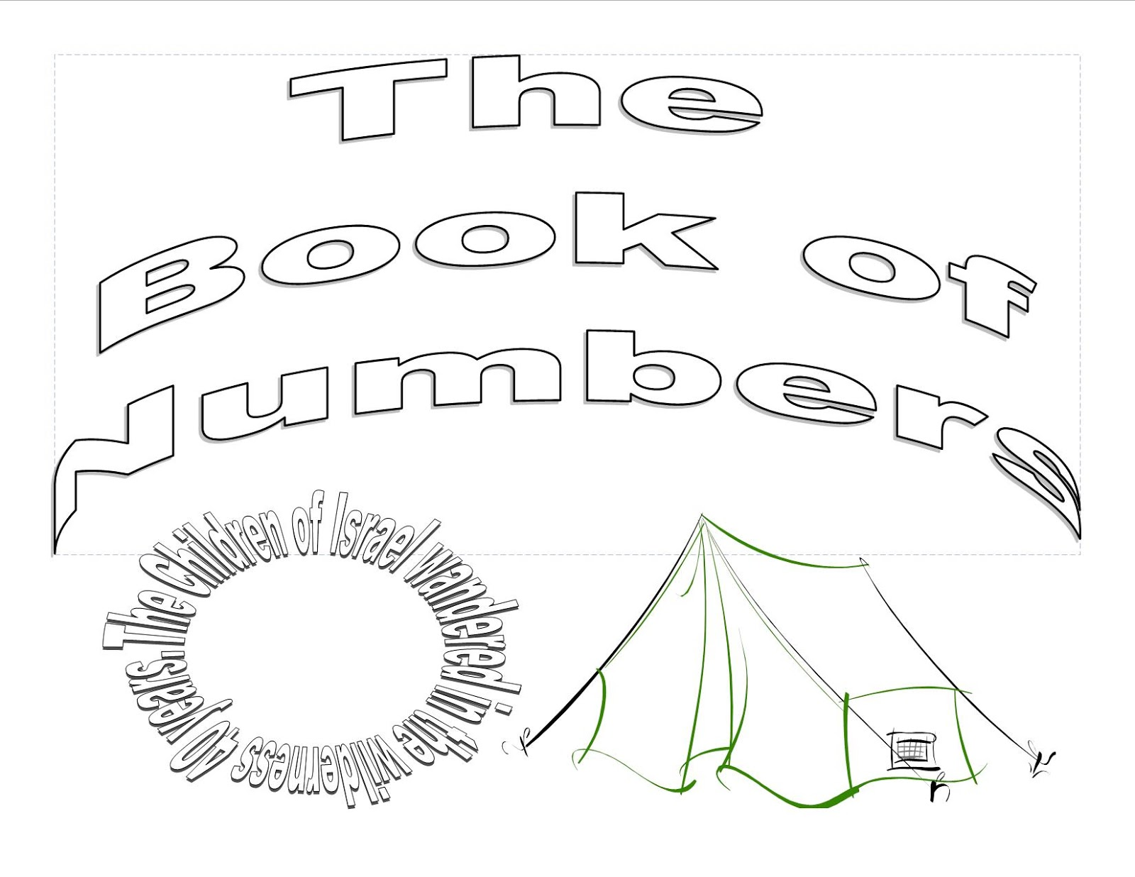 Book of Numbers | Sunday School Coloring Pages ~ Sunday School ...