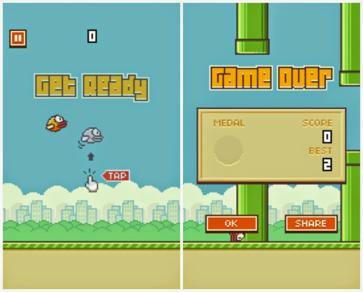 Flappy Bird incómodo para su creador