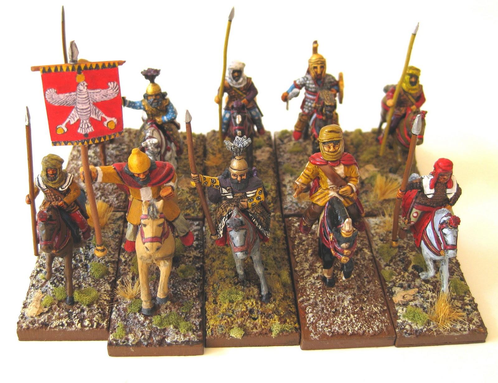 Auxiliary Persian Cavalry Vendel Persian Cavalry