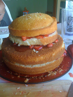 cake layers cake boss strawberry shortcake dessert