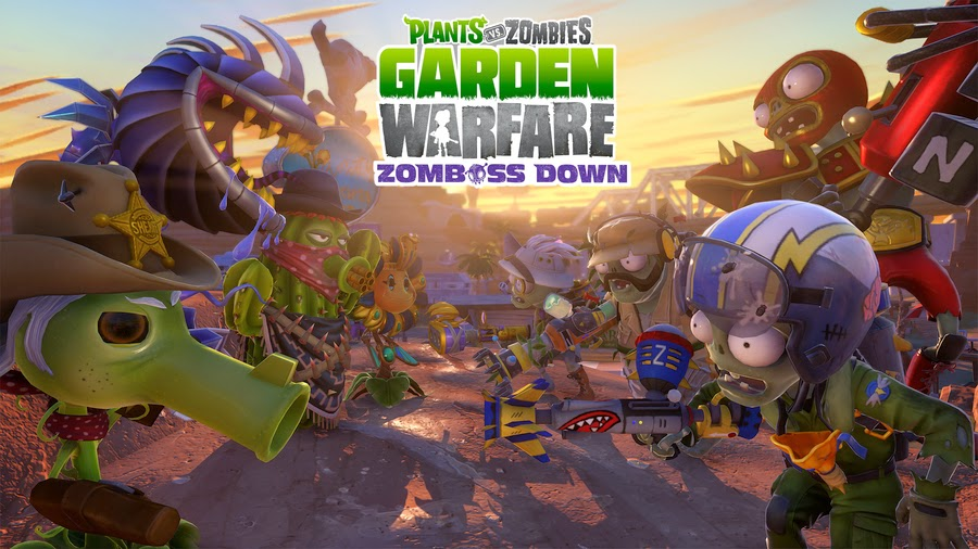 Plants vs Zombies Garden Warfare Zomboss Down DLC