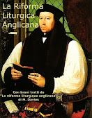 LA RIFORMA LITURGICA ANGLICANA