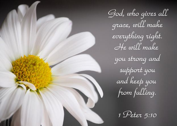 Daily Verse: 1 Peter 5:10
