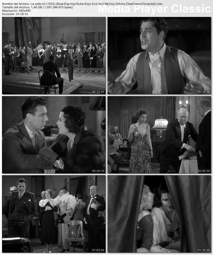 Imagenes, fotografias, capturas:  Calle 42 | 1933 | 42nd Street