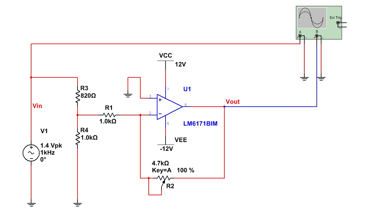 The Answer Is 42 October 2012 Block Diagram Inverting Amplifier