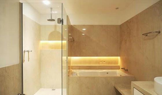 Gesso Chikk  Simplesmente um Luxo Nicho Iluminado Banheiro -> Nicho De Banheiro Iluminado