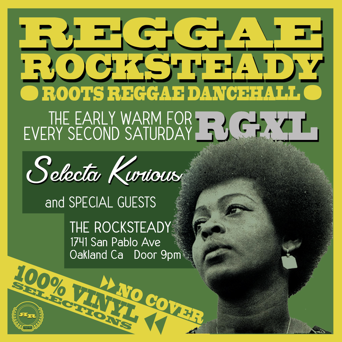 Reggae Rocksteady 2nd Saturdays