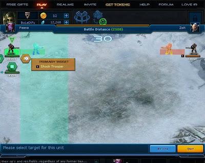 Infinite Realms - Primary Target
