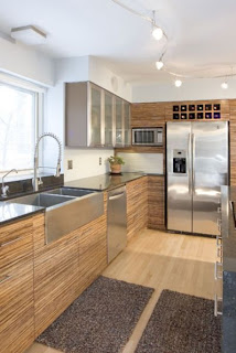 Bamboo Cabinets for Kitchen