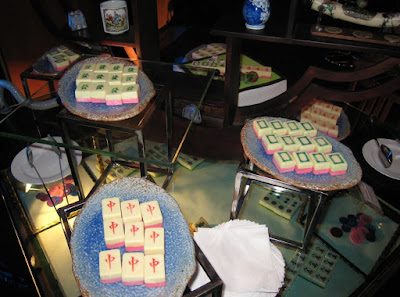 Source: LAVISH. Edible mahjong tiles.