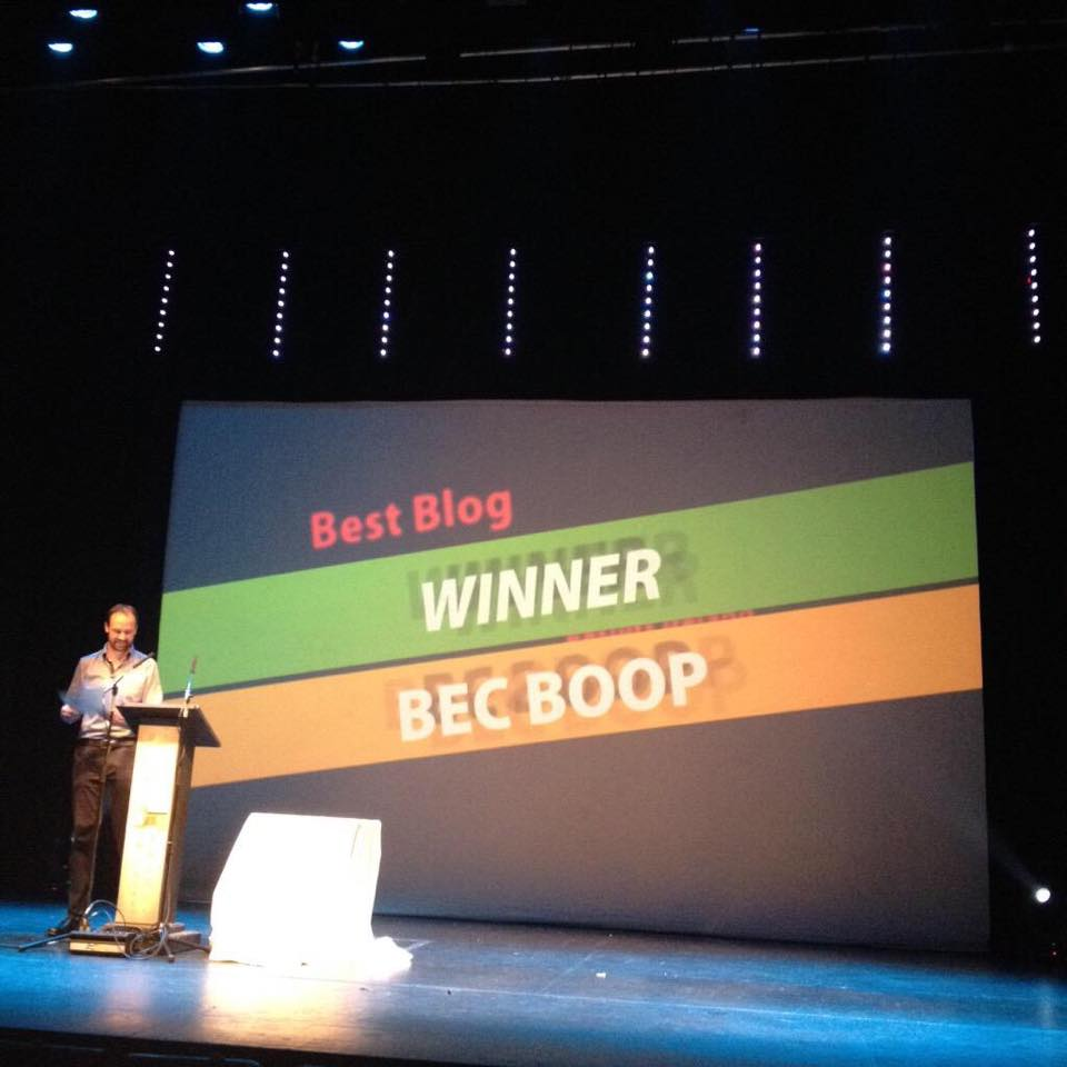 best blog award 2015 bec boop